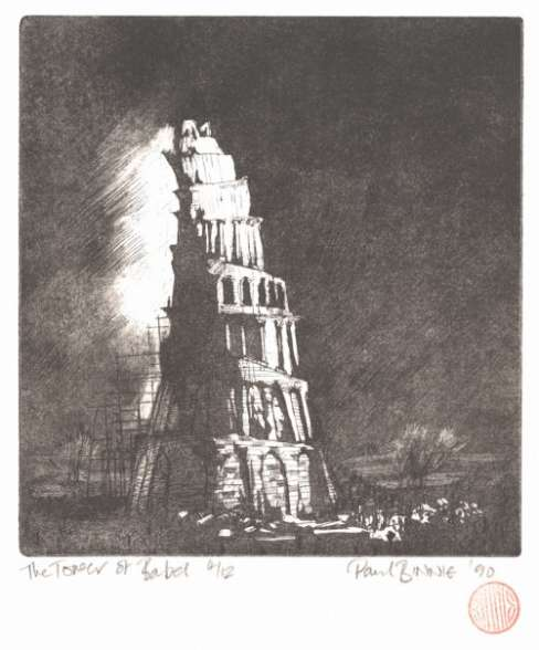 "Paul Binnie ""The Tower of Babel II"" 1990 thumbnail"