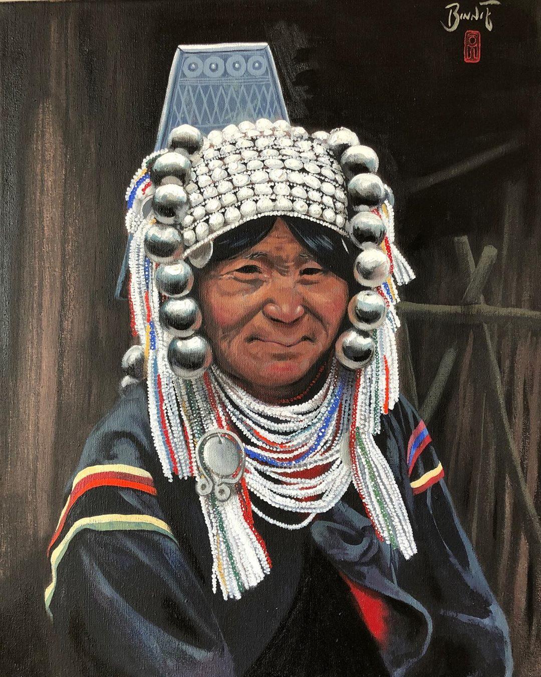 "Paul Binnie ""A Woman of the Akha Tribe, Myanmar"" main image"