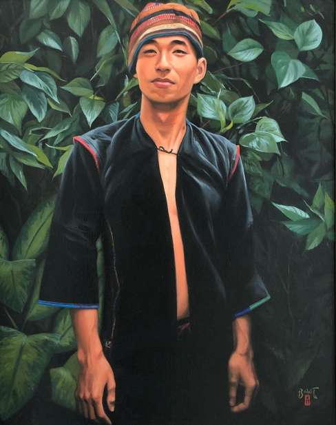"Paul Binnie ""Young Akha Tribesman"" 2001 thumbnail"